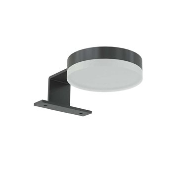 Dansani YOU Jupiter lampe LED Ø80mm sort mat 12v