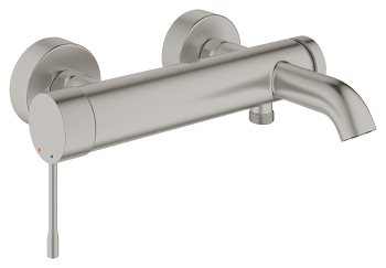 Grohe Essence Kar-/Brusebatteri i Supersteel