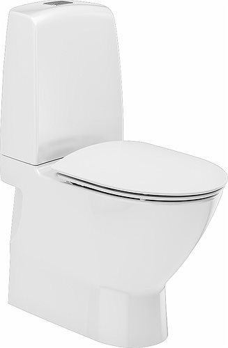 Ifö Spira Art toilet 6240, Rimfree og Ifö clean