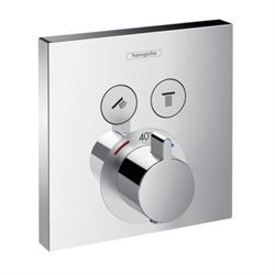 Hansgrohe ShowerSelect termostat med 2 udtag