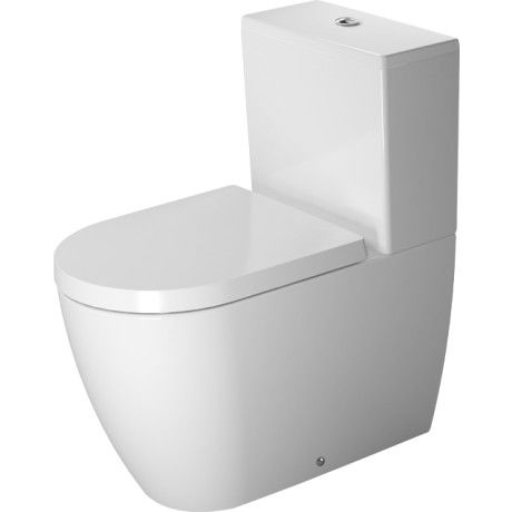 Kæmpestor Gulvmonteret toilet | Gulvtoilet med S-lås | Køb nyt toilet her LO01