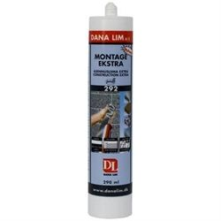 Dana lim montage ekstra 292 sort 290ml