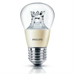 Philips master led krone 4w e27 klar d