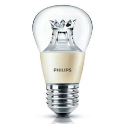 Philips master led krone 6w e27 klar d