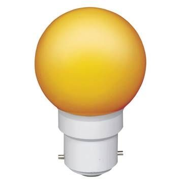 Sylvania led ball ip44 orange b22