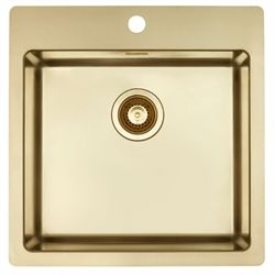 Lavabo Quadrix 45 TW Guld/Messing look