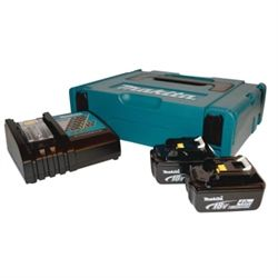 Makita Batteri 2 X 18V 4,0Ah Og Lader