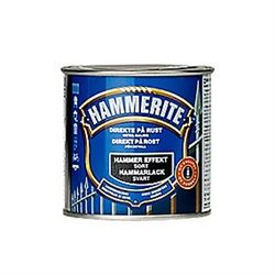 Hammerite Hammer-Effekt Sort - 250 ml