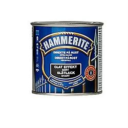 Hammerite glat sort, 250ml