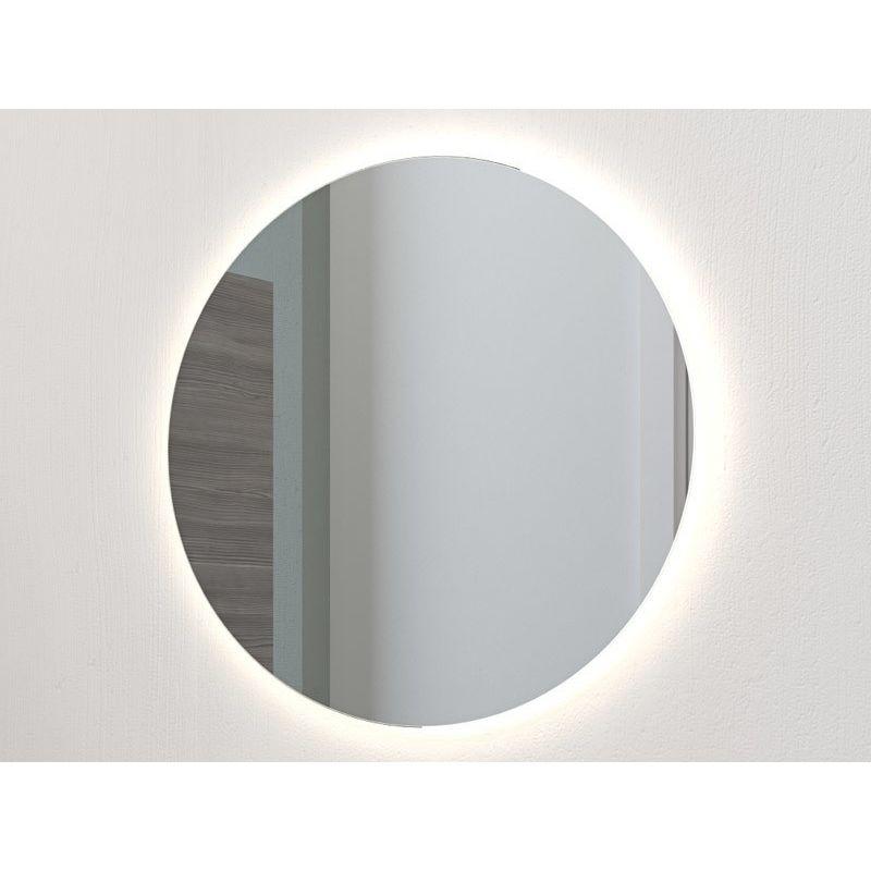 Ubrugte Dansani rundt spejl med integreret lys 75 cm PY-79