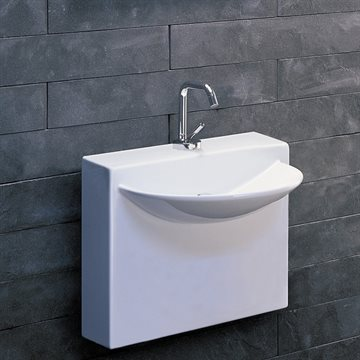 Lavabo Badevask U Wall Mini